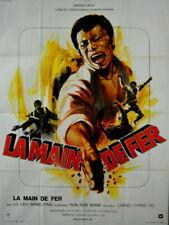 Lo Lieh FIVE FINGERS OF DEATH TIAN XIA DI YI QUAN 1972 FRENCH POSTER 47x63