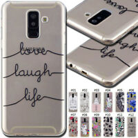 For Samsung Galaxy A6 Plus(2018) TPU Soft Back Skin Rubber Silicone Case Cover