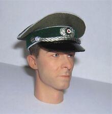 Banjoman 1:6 Scale Custom WW2 German Officer's Green Cap