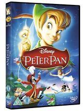 DISNEY PETER PAN DVD FILM MOVIE KIDS CHILDREN CLASSIC LOOK DISNEY LOOK NR