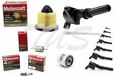 Tune Up Kit 2002 Ford F150 5.4L V8 Ignition Coil DG508 Spark Plug SP479 FA1632