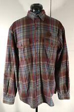Vintage Polo Ralph Lauren Pheasant Hunting plaid flannel elbow patch size