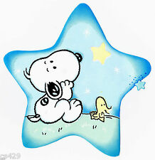 """6.5"""" BABY SNOOPY & WOODSTOCK   CHARACTER  PREPASTED WALLPAPER BORDER CUT OUT"""