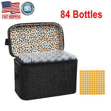 84 Bottles Embroidery Diamond Painting Kit Storage Box Craft DIY Accessories US