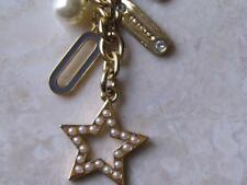 ~Coach Keychain Key Fob Pearl & Lozenge Multi Mix Sold Out in Stores..NWT!!~