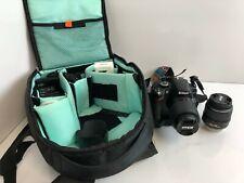 Nikon D3200 24.2 MP DSLR Camera Kit W/18-55mm + 55-200mm Lenses + Accessories
