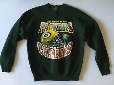 RARE Vintage Authentic Green Bay Packers Super Bowl XXXI Champions Sweatshirt