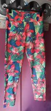 Womens Climalite Adidas Floral Running Leggings...12/14