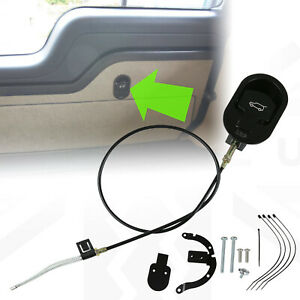 Upper Tailgate Release for Land Rover Discovery 3/4 L319 emergency handle cable