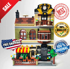 Building Blocks Brickstive MOC City Sets The Chinese Restaurant Model Toys Kids