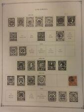 Columbia Stamps 1897-1955 Regular, Air Post & Postal Tax