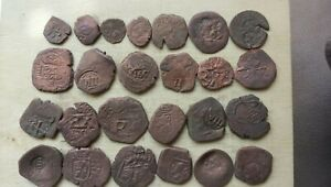 Very nice lot of 25 PIRATES coins.