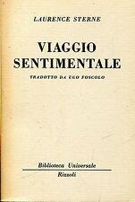 Laurence Sterne = VIAGGIO SENTIMENTALE BUR 1383-1385