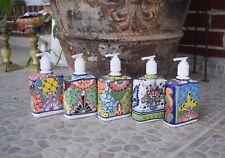 Soap Dispenser Talavera Ceramic Home Kitchen Bathroom Hand Soap