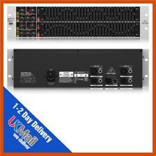 Behringer ULTRAGRAPH PRO FBQ6200HD de alta definición de 31 bandas EQ gráfico estéreo