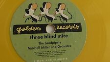 The Sandpipers -  78rpm single 6-inch - Golden Record #26 Three Blind Mice