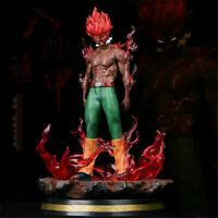 Naruto Might Guy Statue Led Eyes PVC Action Figure 30CM Model Toy Collection