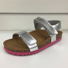 Mayoral Girl summer sandals in Metallic silver (Clearance price)
