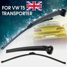 Back Windscreen Rear Wiper Blade + Arm Set For VW T5 Transporter Multivan  ·