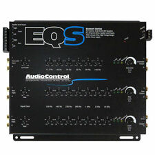New Audiocontrol EQS 6 Channel HI Level Input EQ 13 Band Equalizer Line Driver