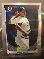 2014 Bowman Chrome Julio Urias Top Prospects  Rookie Refractor #CTP-14 Dodgers