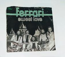 "Ferrari -vinyl single record - 7""- Sweet love - EMI 00697644"