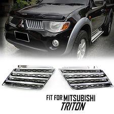 Chrome Bar Grille Grill Plastic ABS Mitsubishi Triton L200 05 06 07 08