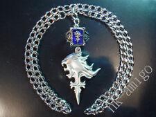 Final Fantasy VIII 8 FF8 Necklace Amber Ring Set