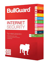 Bullguard Internet Security Lastest Version 3pc 1 Year Authorised Reseller