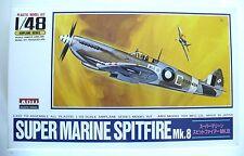 Super Marine Wwii British Spitfire Arii Model Kit 1:48 Boys Ages 8 & Up. Japan