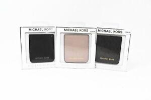 Michael Kors MK Saffiano Leather Phone Pocket Sticker Card Holder - New !!!