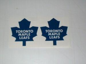 NHL TORONTO MAPLE LEAFS MINI SIZE FOOTBALL HELMET DECALS