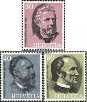 Schweiz 1024-1026 (kompl.Ausgabe) gestempelt 1974 Welpostverein