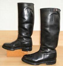 hohe , schwarze 60er J. Polizei Stiefel in Gr. 43