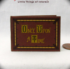 1:6 Scale Once Upon A Time Book Of Fairy Tales Miniature Book Play Scale