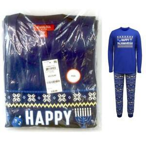 Family PJs Mens Hanukkah Pajama Set Happy Pajamakkah Choose Size New
