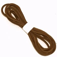 """New listing 1 Pair 74"""" Light Brown Leather Boot Lace, Boot Laces"""