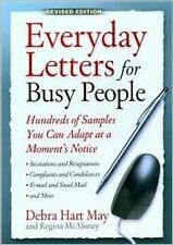 NEW Everyday Letters for Busy People, Revised Edition by Debra Hart May