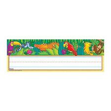 Amazing Amazon Name Plates Desk (NEW) Jungle, animals, school