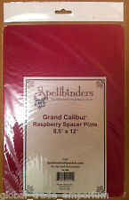 As Seen On TV SPELLBINDERS GRAND CALIBUR A4 RASPBERRY PLATE FOR M-BOSSABILITIES
