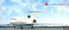 Ticket Jacket - Air Moldova International - Yak 42 (Dniproavia) (TJ36)