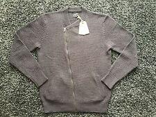 NWT All Saints shift wool Cardigan biker sweater Medium M