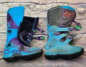 FOX Racing Comp 5 Offroad Motorcycle Boots Adult Size 10 Motocross Dirt Bike