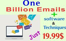 One billion email list for business marketing newly updated complete package
