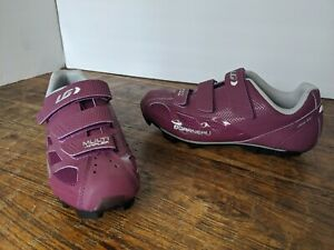 Garneau Women's Multi Air Flex Bike Shoe Magenta Size 39 USA new with no box