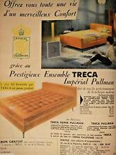 PUBLICITÉ DE PRESSE 1959 PRESTIGIEUX ENSEMBLE TRÉCA IMPÉRIAL PULLMAN