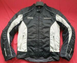 "HEIN GERICKE TRICKY GTX GORETEX CORDURA MOTORCYCLE JACKET UK 41"" 42"" CHEST Large"