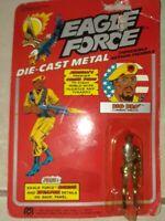 Factory defect missing arm 1981 mego Eagle Force die cast metal Big Bro