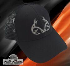 New Realtree Fishing Black Mens Real Tree Trucker Cap Hat
