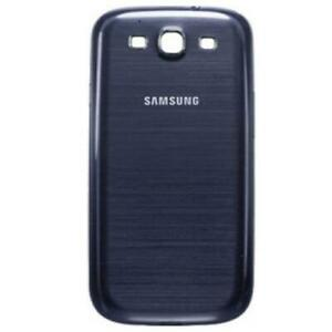 SCOCCA posteriore per Samsung i9300 blu blue cover copri batteria Galaxy S3